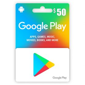 Google Play Gift Card 50$ - گیفت کارت گوگل پلی 50 دلاری