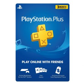 PSN Plus Card 3 Months US