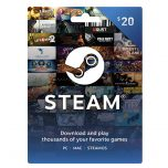 Steam Wallet Card 20$