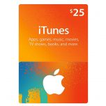 iTunes Gift Card 25$ - گیفت اپل آیتونز 25 دلاری