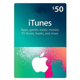 iTunes Gift Card 50$ - گیفت اپل آیتونز 50 دلاری