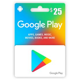 Google Play Gift Card 25$ - گیفت کارت گوگل پلی 25 دلاری