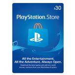 PSN Gift Card 30$ - گیفت کارت پلی استیشن 30 دلاری