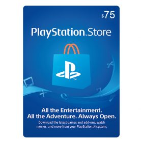 PSN Gift Card 75$