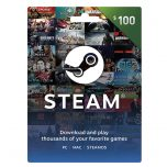 Steam Wallet Card 100$