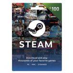 Steam Wallet Card 100$
