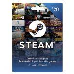 Steam Wallet Card 20$