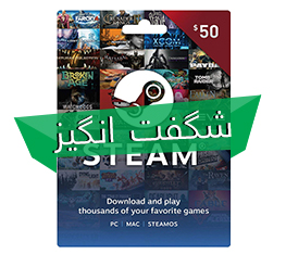 Steam Wallet Card 50