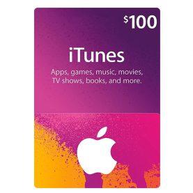 iTunes Gift Card 100$ - گیفت اپل آیتونز 100 دلاری
