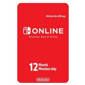 گیفت کارت نینتندو سویچ آنلاین 12 ماهه